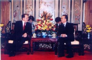 Incontro col premier Wen Jiabao
