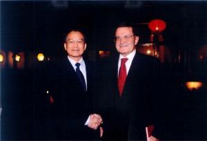 visita alla sede del governo a Pechino
