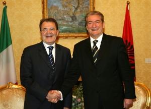 Incontro con il Premier Sali Berisha