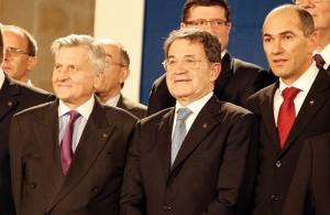 Decennale della Banca Centrale Europea a Francoforte