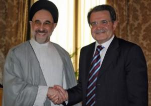 con Mohammad Khatami