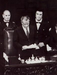 Pietro Ingrao si insedia alla presidenza della camera dei Deputati (5 luglio 1976)