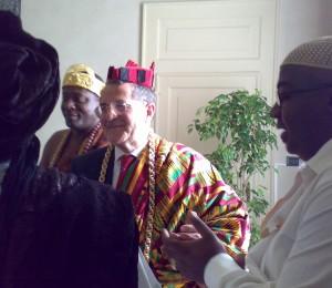 L` Africa Forum rappresenta 1500 tribù ed è riconosciuto ufficialmente dalla UA