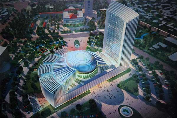 Il progetto del palazzo della Unione Africana ad Addis Ababa