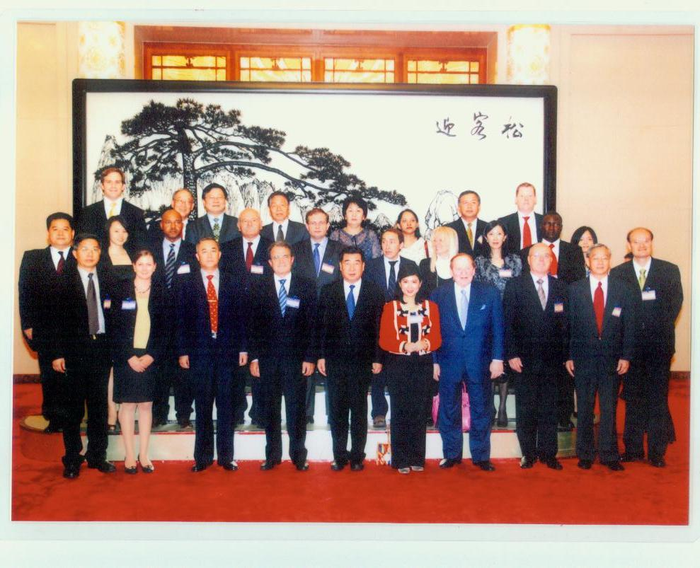 July 1 2010, Romano Prodi and Chinese vice Prime Minister Hui Liangyu at the Great Hall of the People