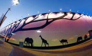 I padiglioni africani all' Expo 2011 di Shanghai