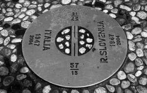 Memoria del confine abbattuto il 30 aprile 2004
