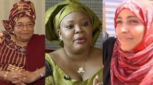 Leymah Gbowee, Ellen Johnson Sirleaf e Tawakkol Karman, Nobel per la Pace 2011