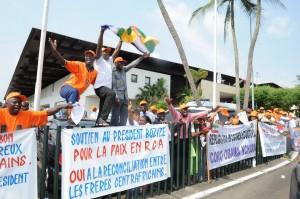 Manifestazioni a Libreville