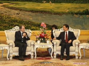 Romano Prodi e Li Yuanchao