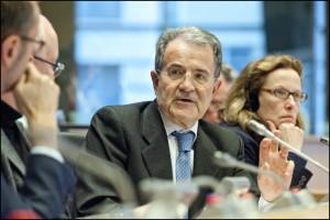 Prodi discute coi membri del Comitato Affari Esteri del Parlamento Europeo
